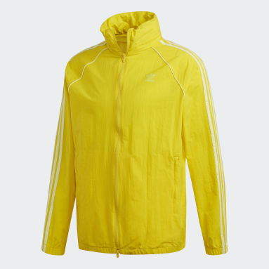 Mænd Originals Gul SST windbreaker