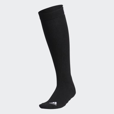 ผู้หญิง กอล์ฟ สีดำ ถุงเท้ายาวระดับเข่า 3-Stripes
