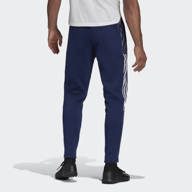 Men Football Blue Tiro 21 Sweat Pants
