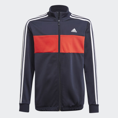 Boys Sport Inspired Blue adidas Essentials Track Suit