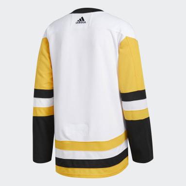 Men Hockey White Penguins Away Authentic Pro Jersey