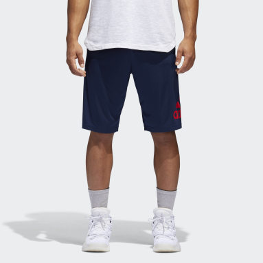 Men Basketball Blue Crazylight Shorts