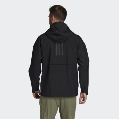 Herr City Outdoor Svart Traveer RAIN.RDY Rain Jacket
