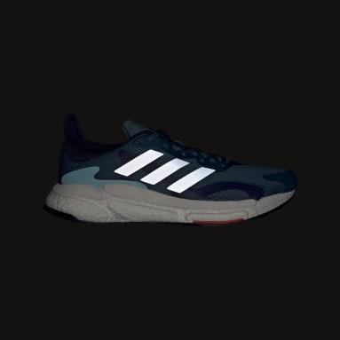 Chaussure Solarboost 3 Bleu Hommes Running