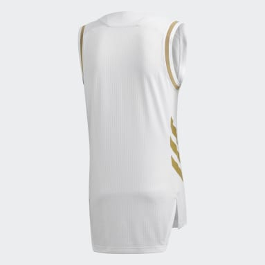Basketbal Wit Real Madrid Game Shirt