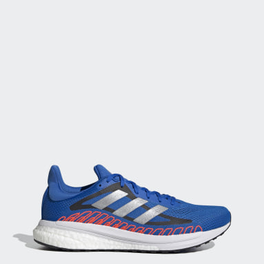 Chaussure SolarGlide ST Bleu Running