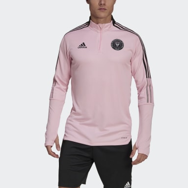 Men's Soccer Pink Inter Miami CF Training Top