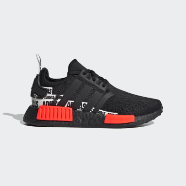 Youth Originals Black NMD_R1 Shoes