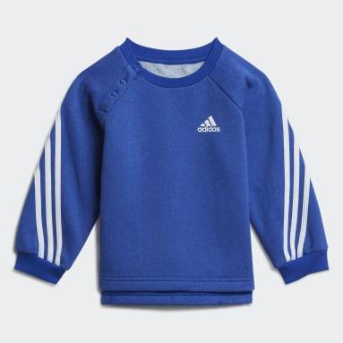 Tuta Future Icons 3-Stripes Blu Bambini Fitness & Training