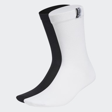 Originals White R.Y.V. Ribbed Crew Socks 2 Pairs
