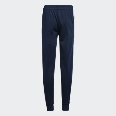 Children Training Blue Iconic Tricot Joggers