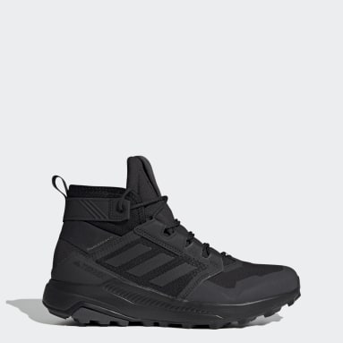 Zapatillas Pharrell Williams Trailmaker Mid GORE-TEX Hiking Negro Hombre TERREX