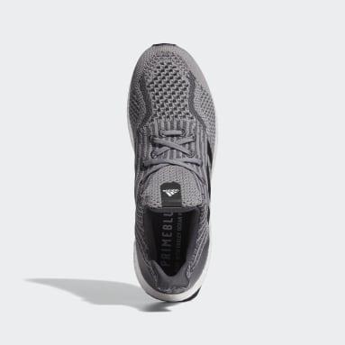 Sapatos Ultraboost 5 Uncaged DNA Cinzento Running