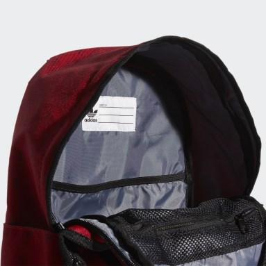 Originals Red Trefoil Pocket Backpack