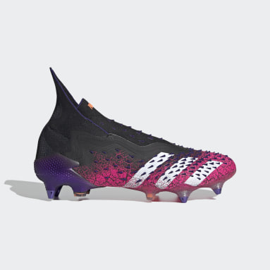 Botas de Futebol Predator Freak+ – Piso mole Preto Futebol