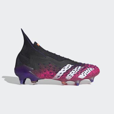 Predator Freak+ Soft Ground Fotballsko Svart