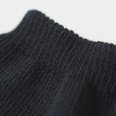 Originals Black Trefoil Liner Socks 3 Pairs