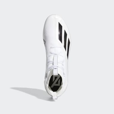 Men's Football White Adizero 11.0 Primeknit Football Cleats