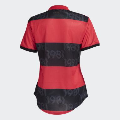 Camisa 1 CR Flamengo 21/22 Vermelho Mulher Futebol