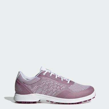 Women Golf White Alphaflex Sport Spikeless Golf Shoes