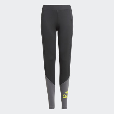 Youth Training Black Designed 2 Move Tights