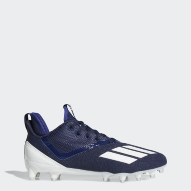 Men's Football Blue Adizero Scorch Football Cleats