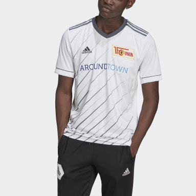 Football White 1. FC Union Berlin 20/21 Away Jersey