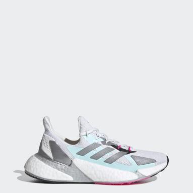 Women's Running White X9000L4 Shoes