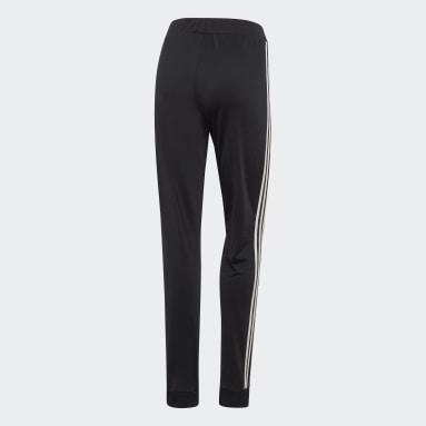 Pantalón 3 Rayas Dazzle Negro Mujer Training