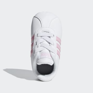 Bebek Sport Inspired Beyaz VL Court 2.0 Ayakkabı