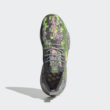 Chaussure NMD_R1 Primeknit Gris Originals