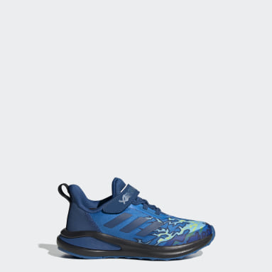 Children Running Blue adidas FortaRun x LEGO® NINJAGO® Jay Shoes