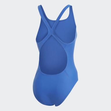 Bañador Athly V Logo Azul Mujer Natación