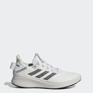 Women Running White Sensebounce+ Street Shoes