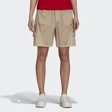 Y-3 CH3 Sanded Cupro Shorts Beige