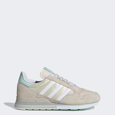 Women Originals Beige ZX 500 Shoes