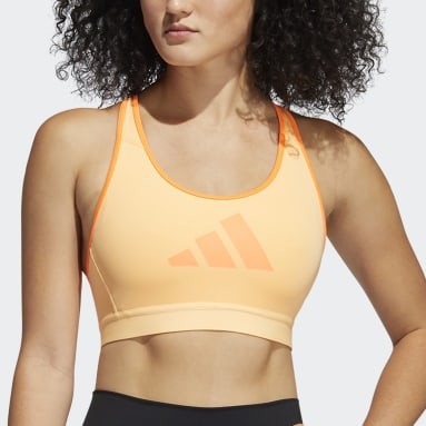Women's Yoga Orange Don't Rest Bra