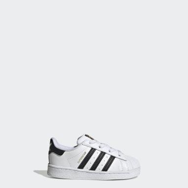 Kinderen Originals wit Superstar Schoenen
