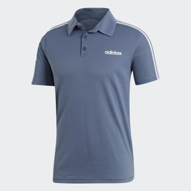 Polo Design 2 Move Azul Hombre Training