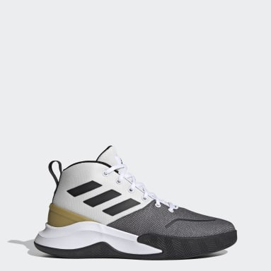 Men Basketball White Ownthegame Shoes