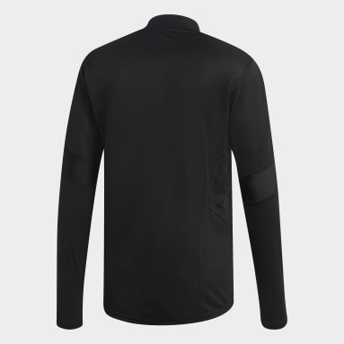 Men Gym & Training Black Tiro 19 Training Top