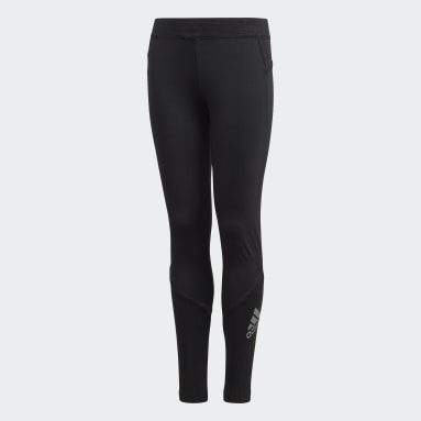 Boys Yoga Sort TECHFIT lange tights