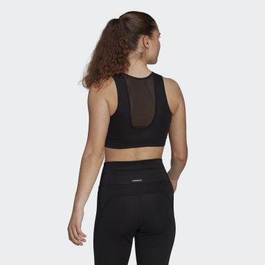 Top Deportivo Designed 2 Move AEROREADY Negro Mujer Training