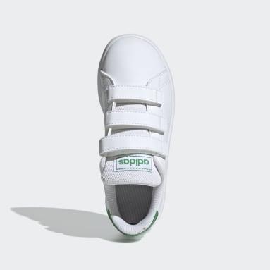 Kinderen Lifestyle wit Advantage Schoenen