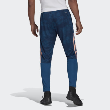 Men Football Blue Arsenal Graphic Pants