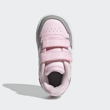 Děti Basketbal růžová Obuv Hoops 2.0