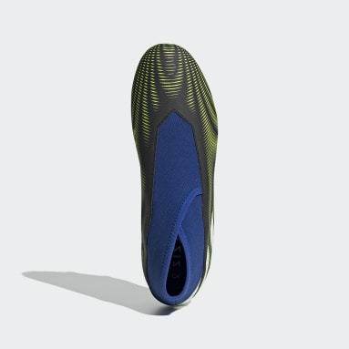 Bota de fútbol Nemeziz.3 Laceless césped natural seco Negro Fútbol