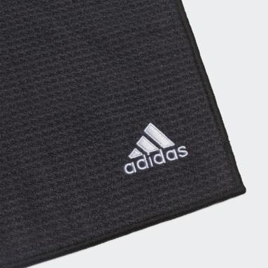 Men Golf Black Towel Small