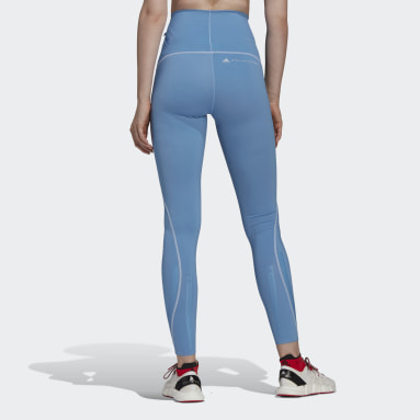 Women adidas by Stella McCartney Blue TRUEPURPOSE Leggings