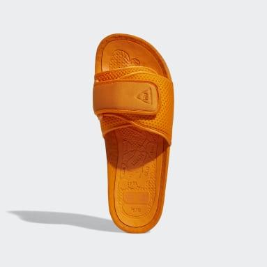 Claquette Pharrell Williams Chancletas Hu Orange Hommes Originals